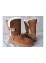 Cizme Ugg Australia Bailey Button Chestnut